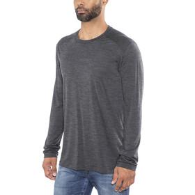 Icebreaker M's Sphere LS Crewe Shirt black hthr